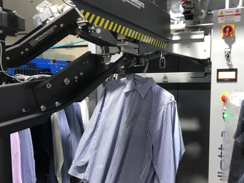 Master Dry Cleaners garment automation